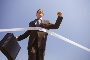 Image Courtesy of Creative Commons Businessman Crossing the Finish Line - Image by © Royalty-Free/Corbis http://ow.ly/HNuPu